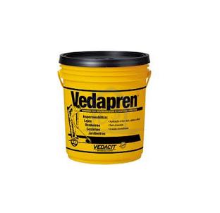 Qual Vedapren impermeabilizante 18 KG (Preto), quanto Vedapren impermeabilizante 18 KG (Preto), Foto de Vedapren impermeabilizante 18 KG (Preto), Quantidade e preço Vedapren impermeabilizante 18 KG (Preto)